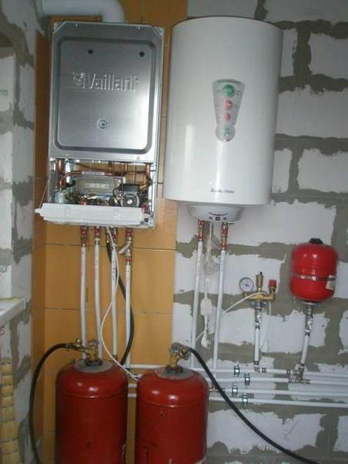 колонки на сжиженном газе спб