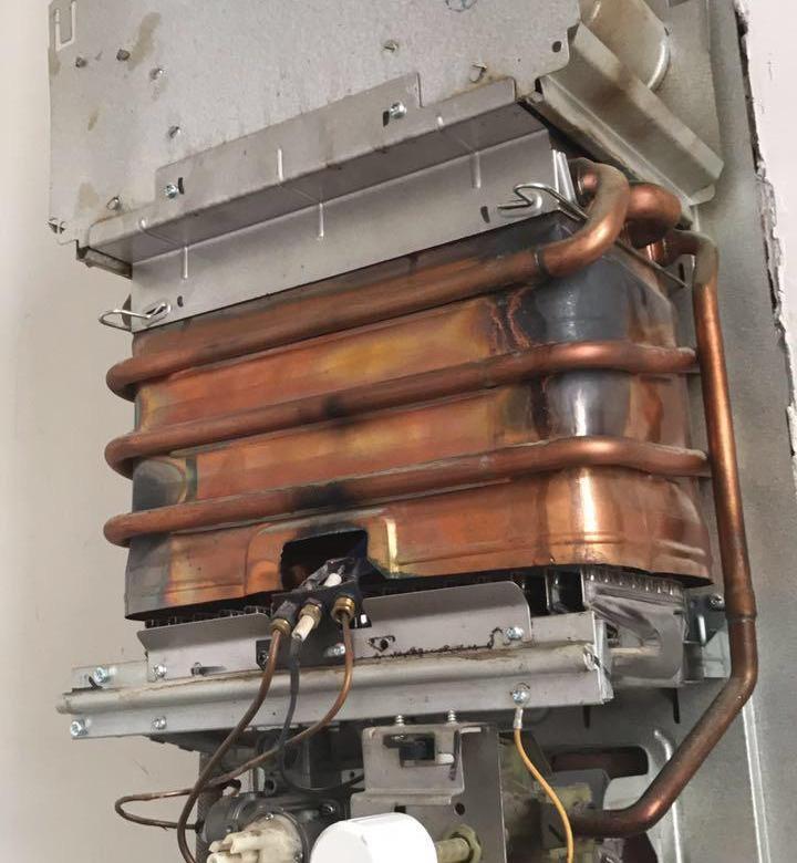 Промывка газового теплообменника
