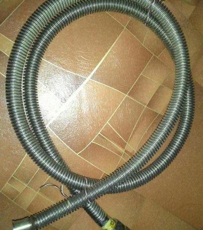 замена газового шланга