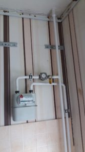 перенос газового счетчика