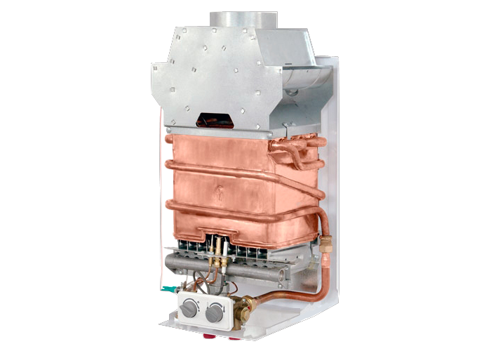 теплообменник газовой колонки Нева