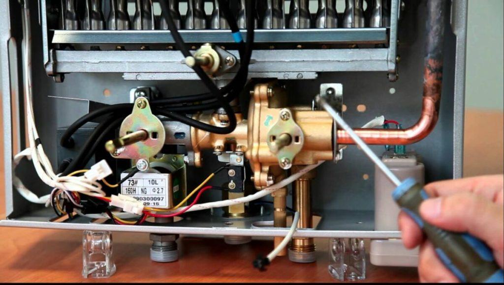 ремонт газовых колонок оазис