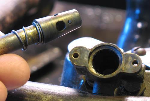ремонт варочной панели смазка крана