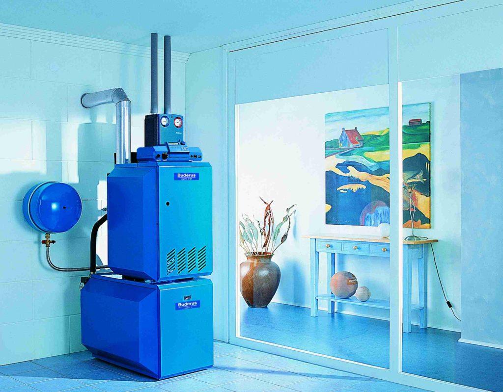 напольный газовый котел для отопления дома