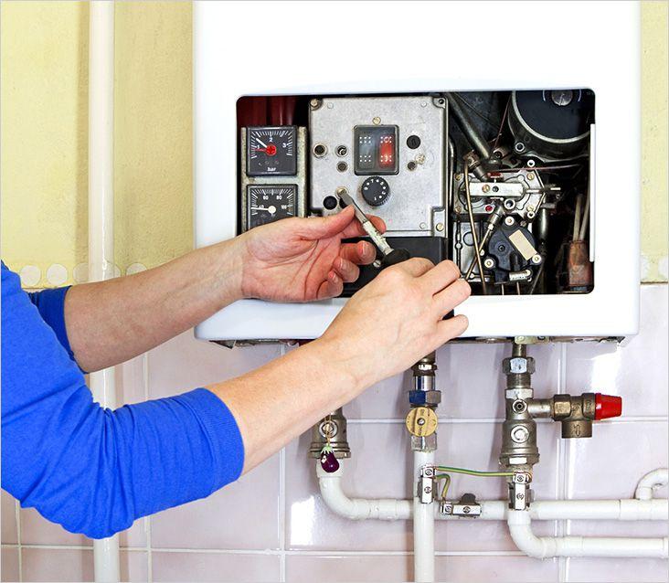обслуживание газовой колонки